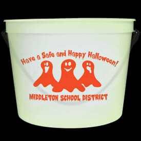 64 oz Glow-In-The-Dark Pail with Handle