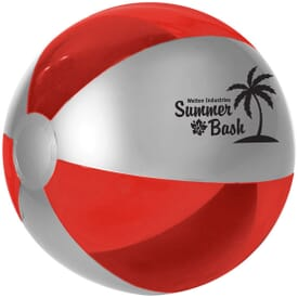 Silver Sheen Beach Ball 2 Day Service