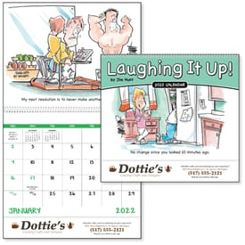 Laughing It Up! Spiral Calendar