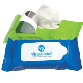 Pouch Wipes – Antibacterial Wet Wipes