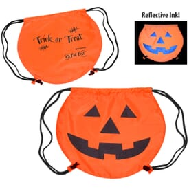 Party Time™ Drawstring Backpack - Pumpkin