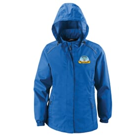 Ladies' Core 365™ Climate Seam-Sealed Lightweight Variegated Ripstop Jacket