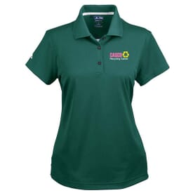 Ladies' Adidas® Golf ClimaLite® Basic Short Sleeve Polo