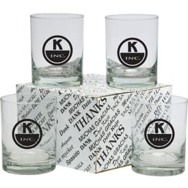 Executive Double Old Fashioned Thank You Set