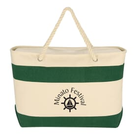 Large Cruising Tote With Rope Handles