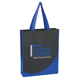 Non-Woven Tote With Accent Trim