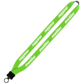 "3/4"" Neoprene Lanyard With Plastic O-Ring"