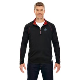 Men's North End® Radar Quarter Zip Performance Long Sleeve Top