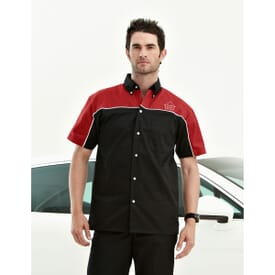 Downshifter Men's Short Sleeve Twill Shirt