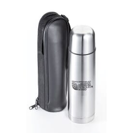 The Companion 16 Oz Stainless Steel Flask