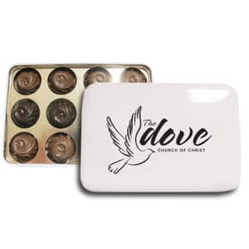 One Of A Kind Tin With Signature Truffles