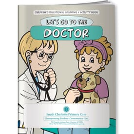 Doctor, Let's Go To The Doctor- Coloring Book
