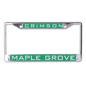 "Inlaid License Plate Frame- 6 1/4"" X 12 1/4"""