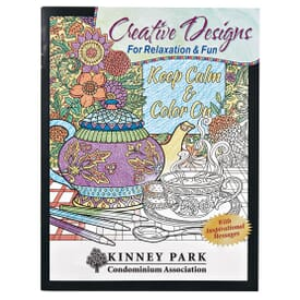 Creative Designs Adult Coloring Book