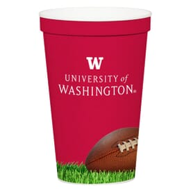 12 Oz. Full Color Stadium Cup