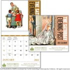 ON SALE-The Saturday Evening Post Calendar - Spiral