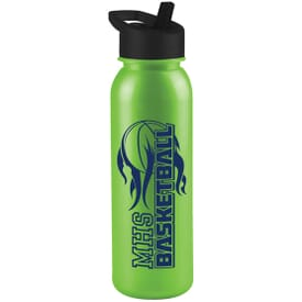 24 oz Hugo Sports Bottle-Metallic