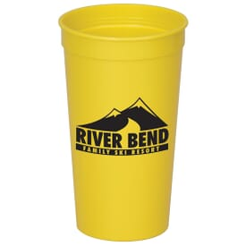 32 oz. Solid Stadium Cup