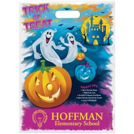 Trick or Treat Plastic Bag Spooky Castle