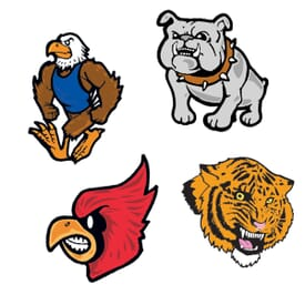 Temporary Tattoos Mascots