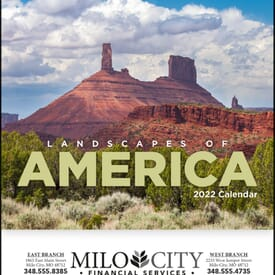 ON SALE-Landscapes of America Calendar - Mini
