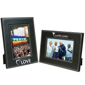 Contrast Stitch Photo Frame