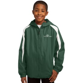 Sport-Tek® Fleece Lined Jacket - Youth