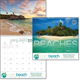 ON SALE-Tropical Beaches Calendar - Spiral