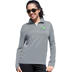 Womens' Vansport 1/4 Zip Tech Pullover