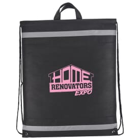 ON SALE-Horizon Reflective Drawstring Backpack