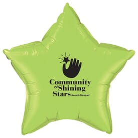 "20"" Microfoil® Star Balloon"