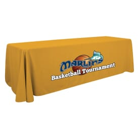 8ft Standard Table Throw - Full Color Thermal Front