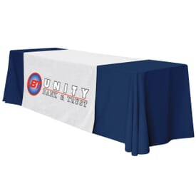 "57"" Standard Table Runner – Full Color Thermal Front"