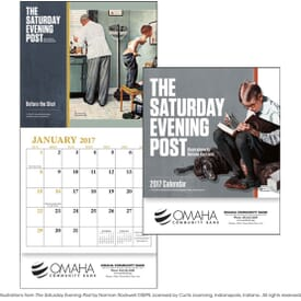 The Saturday Evening Post Calendar - Mini