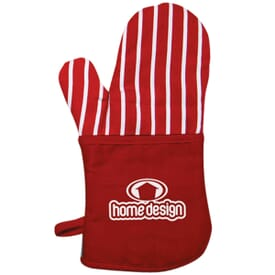 Heat Block Oven Mitt