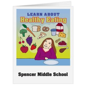 Coloring Book Healthy Eating