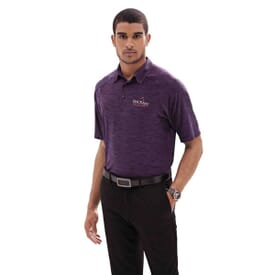 Barcode Stretch Perf Polo-Men's