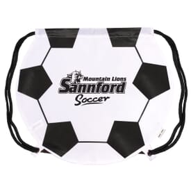 Game Time!® Drawstring Backpack - Soccer