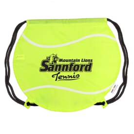 Game Time!® Drawstring Backpack - Tennis Ball