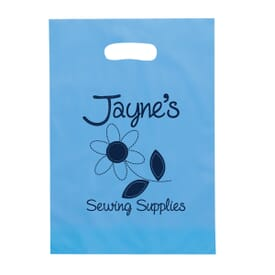Frosty Die Cut Bag – 9 1/2 x 14