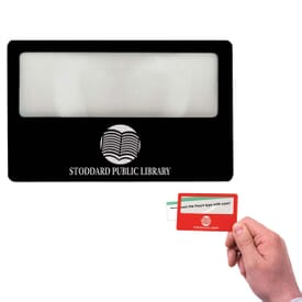 Credit Card Magnifier - 2 Day Service