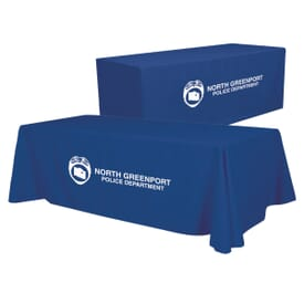 8ft Convertible Table Throw - One Color Thermal Imprint