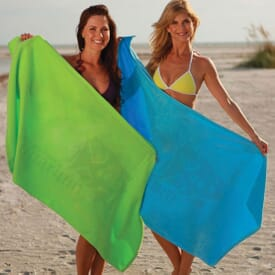 ON SALE-Jewel Colored Beach Towel