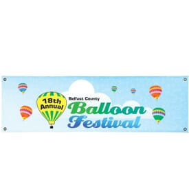 3' x 10' Indoor/Outdoor Event Banner