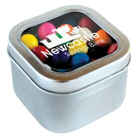 Large Square Tin Gumballs