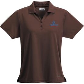 Moreno Short Sleeve Polo- Women's