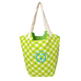 Printed Reversible Hobo Tote