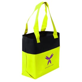 Two-Tone Accent Tote