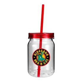 24 oz Clear Plastic Mason Jar - Full Color