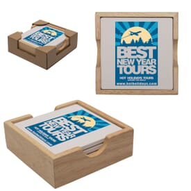 Square Coaster Set